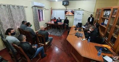 Ministros de la Corte participaron de videoconferencia con reos de Amambay