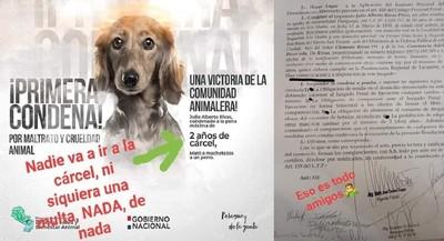 ANIMALEROS CUESTIONAN CONDENA POR MALTRATO SIN MULTA.