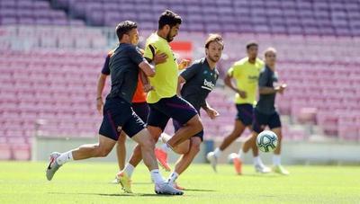 El Barcelona ya se mueve en el Camp Nou