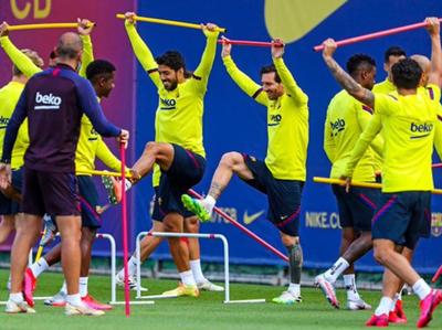 Lionel Messi vuelve a las tareas normales
