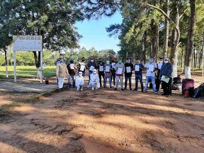 Caaguazú: Masivo contagio en albergues genera altas a cuentagotas