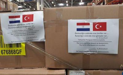 Turquía también donará equipos médicos para combatir la pandemia