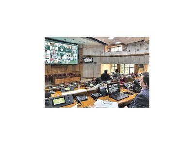 Parlamentos debaten plan de acción ante crisis por Covid-19