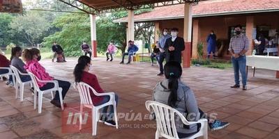 MINNA ENTREGA KITS DE ALIMENTOS A 300 FAMILIAS DE ENCARNACIÓN