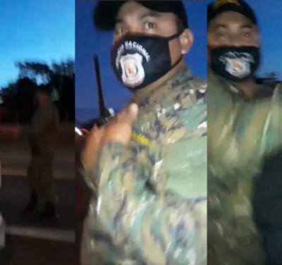 """""""Se exageró"""" dice Comisario de los policías que agredieron a mujeres en San Pedro"""