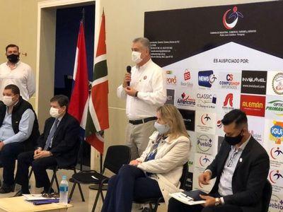Ministros participaron de reunión con autoridades y empresarios para analizar propuestas de reactivación comercial en la frontera