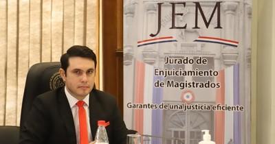 Diputado Hernán Rivas juró como representante ante el Jurado de Magistrados