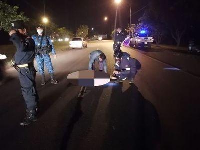 Joven muere en accidente de tránsito en Hernandarias
