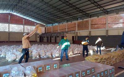 Continúa asistencia a 230 ollas populares en Franco