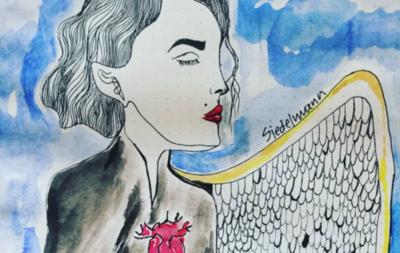 """HOY / El reflejo de los miedos de una """"chica lunática"""", en la galería virtual de Nde Rógape"""