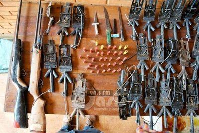 Hallan equipos de caza furtiva en áreas protegidas de Itaipú