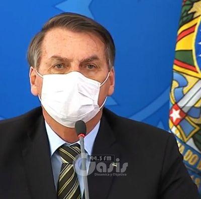 Brasil: Bolsonaro aplaude medidas paraguayas, pero no cerrará fronteras