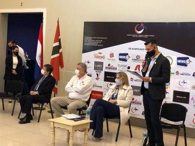 Camara de Comercio de Pedro Juan Caballero se reúnen con Ministros