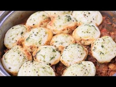 Pajagua Mascada y Rolls salados al vapor