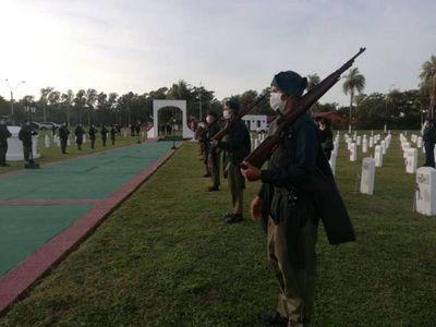 Abdo recuerda los 85 años de la Paz del Chaco