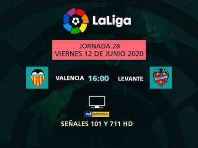 Derbi de Valencia resalta en la jornada de La Liga