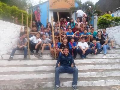 Grupo Scouts 88 de Luque festeja su 33° aniversario, recolectando alimentos y abrigos • Luque Noticias