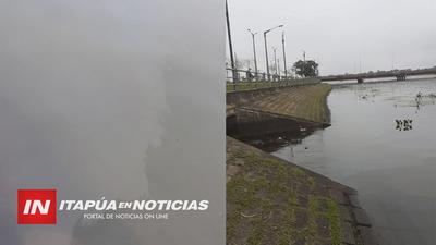 DENUNCIAN PRESENCIA DE ELEMENTOS CONTAMINANTES EN SUB EMBALSE YACU PASO