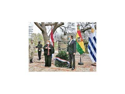 Conmemoran la Paz del Chaco con una ceremonia en Uruguay