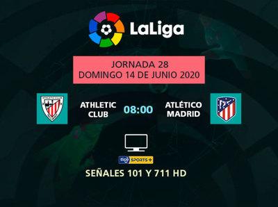 Athletic y Atlético Madrid abren la jornada dominguera de La Liga