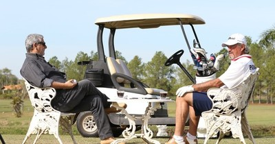 """Carlos Franco: """"El golf es un vicio bueno"""""""
