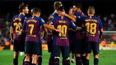 El Barça toma carrera por LaLiga, batalla en la cola de la clasificación