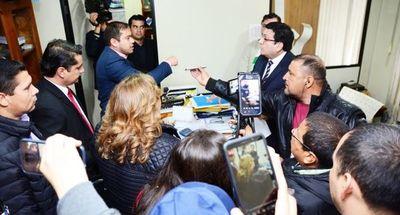 Miguel Prieto, en otra audiencia de conciliación por difamación
