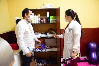 Municipalidad de CDE habilita su segunda sala de fisioterapia