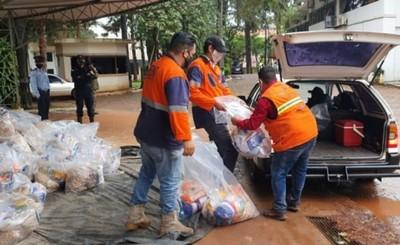 Entregan 2.000 kits de alimentos a trabajadores del volante en CDE
