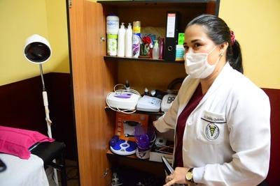 Otra sala de fisioterapia fue habilitada por la comuna
