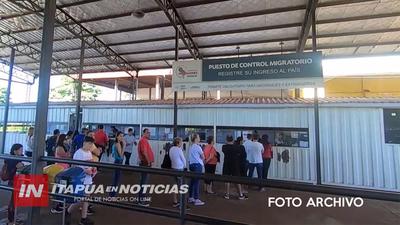 PLANTEAN APERTURA GRADUAL DEL PUENTE SAN ROQUE PARA REACTIVAR COMERCIO FRONTERIZO