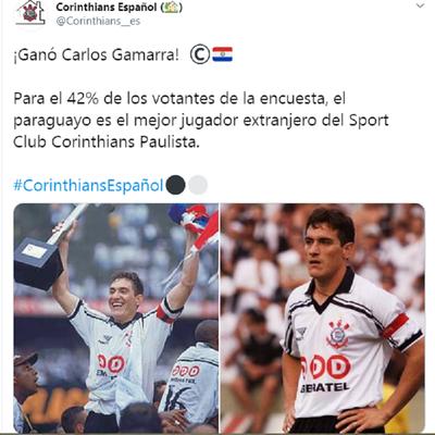 """El """"colorado"""" Gamarra amo y señor en tierras brasileñas"""