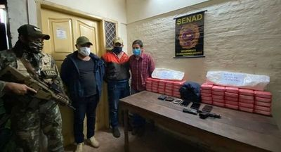Desbaratan red narco integrada por un policía de Investigaciones