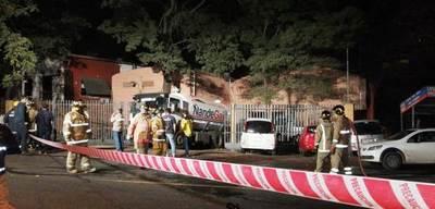 Explosión causó un muerto y varios heridos en Villa Elisa • Luque Noticias