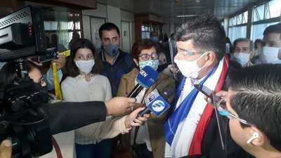 """Alegre califica a Sandra Quiñónez como """"la Fiscal General de la mafia"""""""