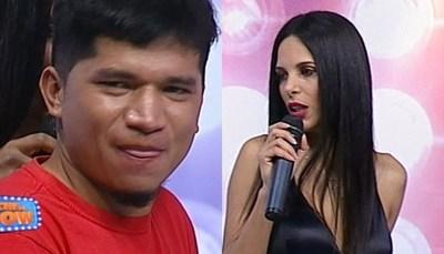 """Virginia Jiménez calentó a """"El Jaka"""""""
