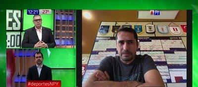Gustavo Morínigo charló con Deportes NPY