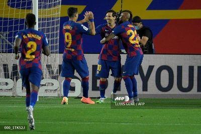 El Barcelona no falla ante el colista