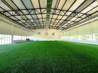 FIFA destaca instalaciones de primer nivel del CARDE • Luque Noticias