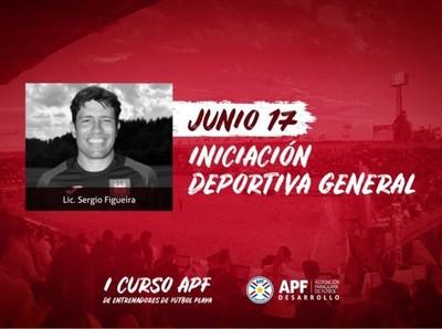 Continúa el I Curso APF de Entrenadores de Fútbol Playa
