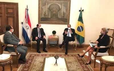 Brasil recibió propuesta formal para facilitar el intercambio comercial transfronterizo