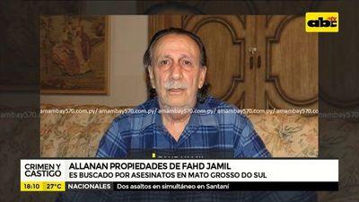 Allanan propiedades de Fahd Jamil