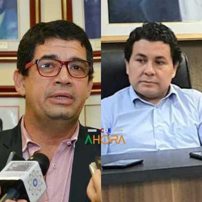 """El PADRINO del """"intocable"""" administrador de la aduana de CDE"""