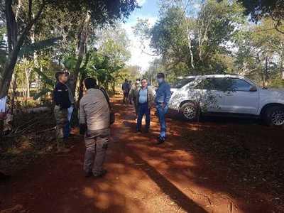 Intervienen nuevamente inmueble de la Itaipú invadido por 30 familias