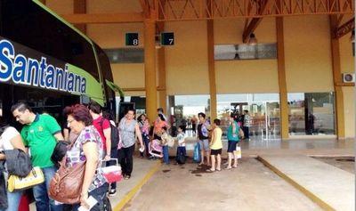 No suspenderán el servicio del transporte público al interior este fin de semana