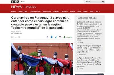 BBC destaca cómo Paraguay logró contener el contagio pese a estar en el