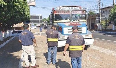 Más de 100 empresas de buses oligá sanción