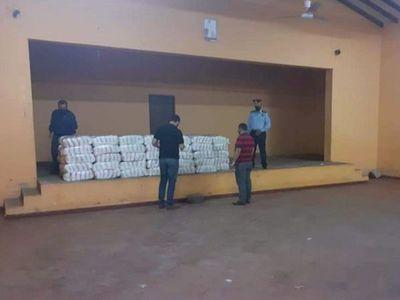 Incautan azúcar   tras allanamiento en Municipalidad de Independencia