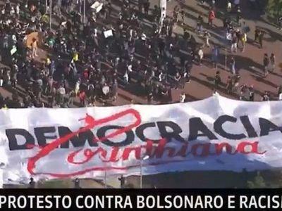 En qué se inspiran los hinchas del Corinthians que protestan contra Bolsonaro