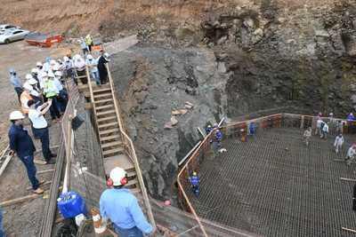Verifican avance de obras en el Puente de la Integración y el Multiviaducto